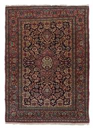 A fine Isfahan rug