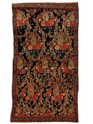 A large Senneh rug