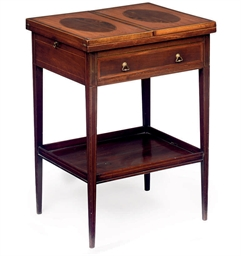 A VICTORIAN SATINWOOD, YEW-WOO