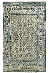 A cotton Agra rug & Chinese ru