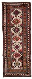 An unusual long Karabagh rug