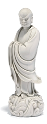 A CHINESE BLANC DE CHINE FIGUR