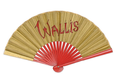 A FAN BELONGING TO WALLIS SIMP