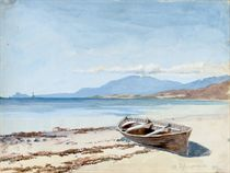 An album of twenty-four watercolours of coastal views around Tighnabruaich, On the Forth and Loch Ard, Scotland; and Glenhead, The Peathole, The Doon and Rossarell Point, Ireland (one illustrated)