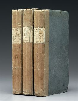 [AUSTEN, Jane]. Emma: A Novel... By the Author of Pride and Prejudice, &c. &c. London: John Murray, 1816.