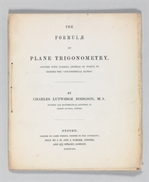 DODGSON, Charles Lutwidge (183