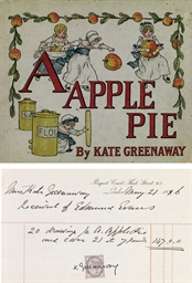 GREENAWAY, Kate. A Apple Pie.