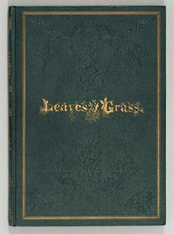 WHITMAN, Walt. Leaves of Grass. Brooklyn: [Printed for the Author], 1855.