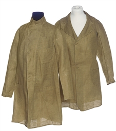TWO CHILDREN'S DUSTER COATS