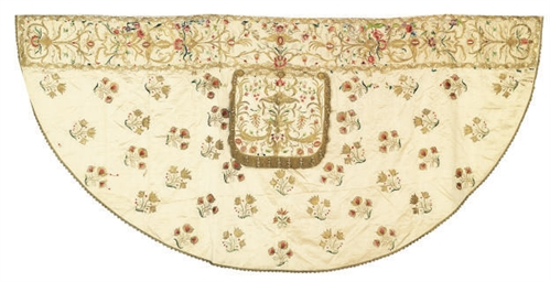 AN EMBROIDERED COPE