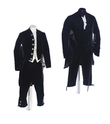 TWO COURT DRESS UNIFORMS