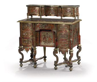 bureau mazarin a gradin d 39 epoque louis xiv fin du xviieme siecle european furniture works. Black Bedroom Furniture Sets. Home Design Ideas