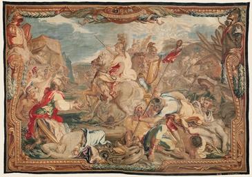 TAPISSERIE D'EPOQUE LOUIS XIV