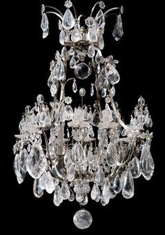 lustre de style baroque dans le gout de la maison jansen xxeme siecle european furniture. Black Bedroom Furniture Sets. Home Design Ideas