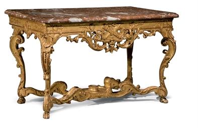 TABLE A GIBIER D'EPOQUE REGENC