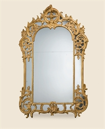 MIROIR A PARECLOSES D'EPOQUE L