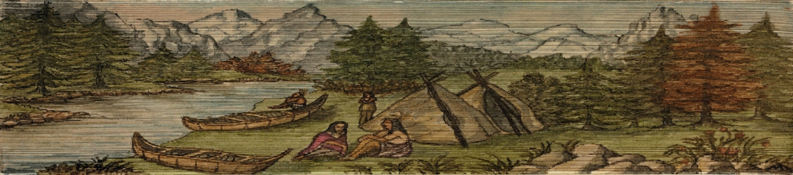 [FORE-EDGE PAINTING]. CATLIN,