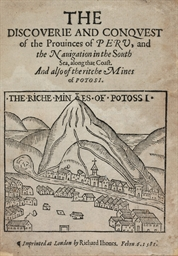 ZARATE, Augustin de (b.1514).
