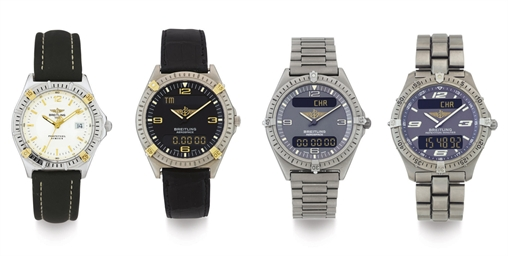 BREITLING.  A LOT OF FOUR WRIS