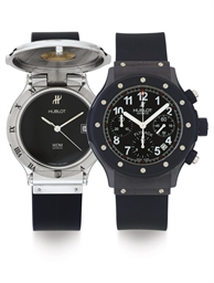 HUBLOT.  A STAINLESS STEEL LIM