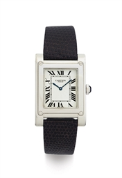 CARTIER.  AN 18K WHITE GOLD WR