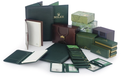 ROLEX.  A SELECTION OF PRESENT