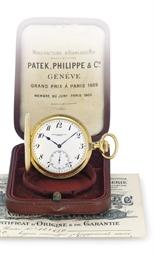 PATEK PHILIPPE.  AN 18K GOLD H