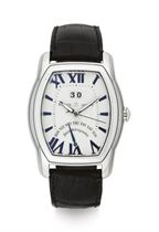 MAURICE LACROIX. A STAINLESS STEEL AUTOMATIC WRISTWATCH WITH DATE AND RETROGRADE DAY