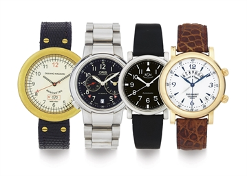 A LOT OF FOUR AUTOMATIC WRISTW