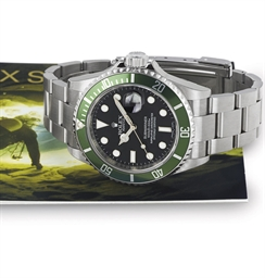 ROLEX. A STAINLESS STEEL WRIST