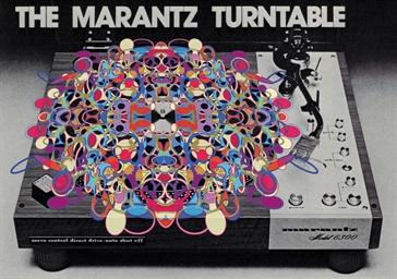 THE MARANTZ TURNTABLE