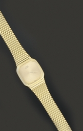 A quartz wristwatch, by Piaget