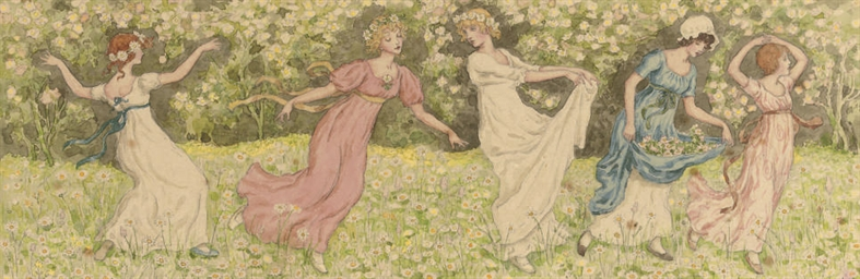 Dancing among the daisies