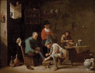 ATTRIBUE A DAVID TENIERS (ANVERS 1610-1690 BRUXELLES)