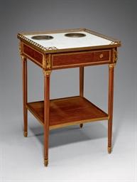 TABLE RAFRAICHISSOIR DE STYLE