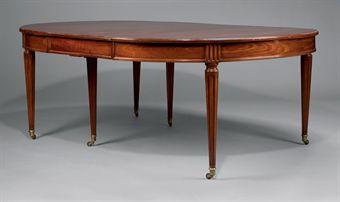 table de salle a manger de style louis xvi fin du xixeme siecle european furniture works