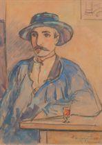 Portrait du poète Durocher