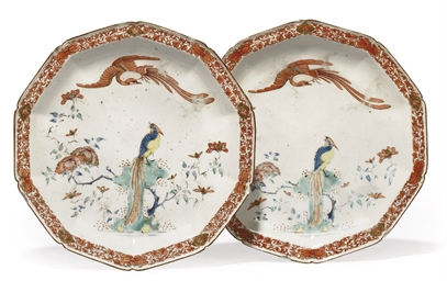 A PAIR OF CHELSEA KAKIEMON DEC