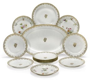 A SEVRES (OUTSIDE-DECORATED) P