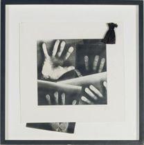 John's hand, perchance