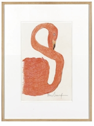 Untitled (Coral Swan)