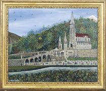 Lourdes et le Gave de Pau