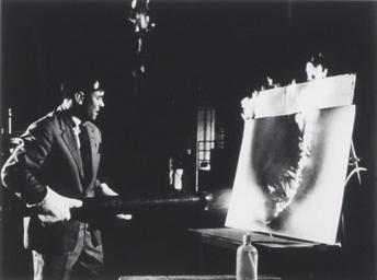 Yves Klein, February, 1961