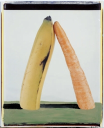 Landscape with banana & carrot