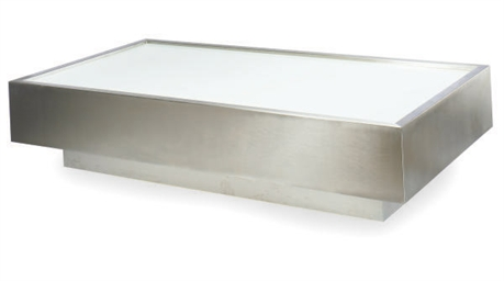 A BRUSHED AND POLISHED STEEL I
