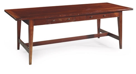 A CHERRYWOOD TABLE,