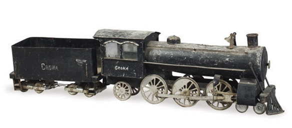 A MODEL STEAM LOCOMOTIVE WITH