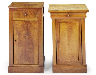TWO CONTINENTAL SINGLE-DRAWER
