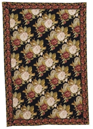 A CHINESE NEEDLEPOINT RUG,