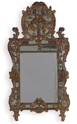 A LOUIS XV MIRROR,